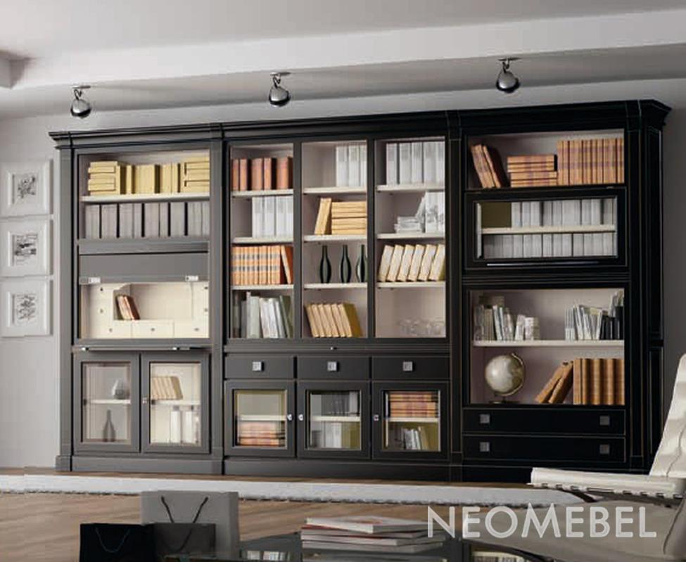 Испанские книжные шкафы hamster фабрики la ebanisteria (Част.