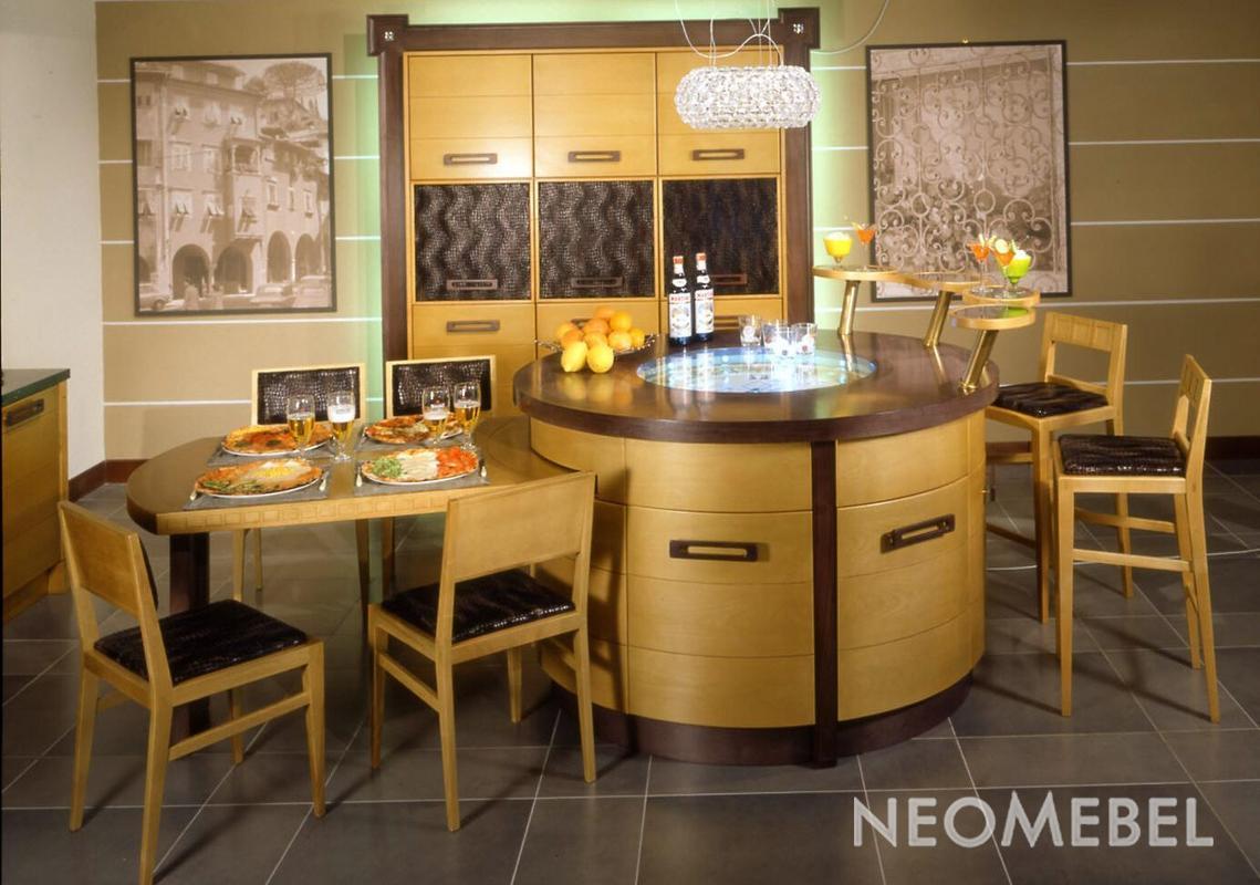 Фото - кухонная мебель - функциональная кухонная мебель, фот.